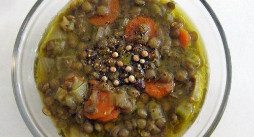 Comfort Food the Ancient Greek Way: Zeno of Citium's Lentil Soup Recipe