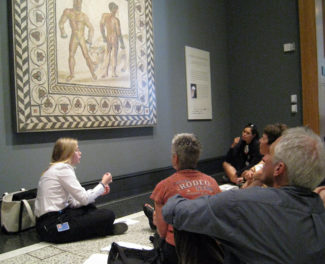 Museum Educators Get Creative with Focus Tours