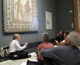 Museum Educators Get Creative with Focus Tours