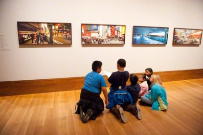 Once, Twice, Three Times! Students Make the Museum Their Own