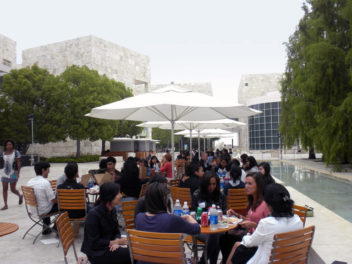 Multicultural Undergraduate Interns Gather for an Arts Summit