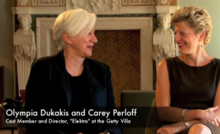"Video: Olympia Dukakis and Carey Perloff on the Making of ""Elektra"""