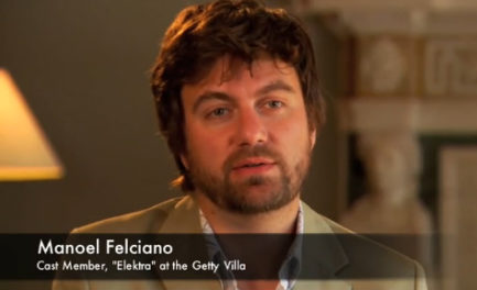 "Video: Manoel Felciano on Playing Orestes in ""Elektra"""