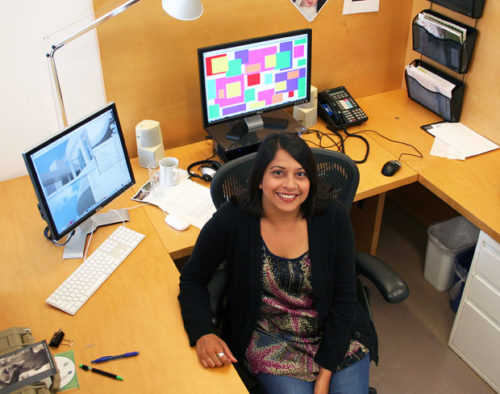 Career Profile: Tina Shah, Web Content Administrator