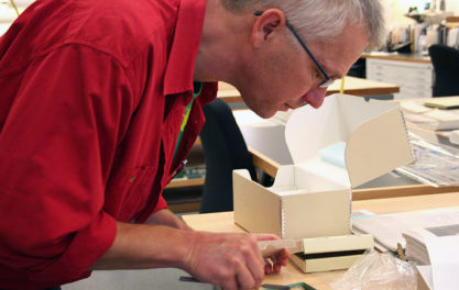 Career Profile: Albrecht Gumlich, Objects Conservator