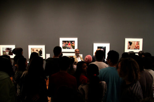 High School Students Explore Photojournalism with Sudharak Olwe