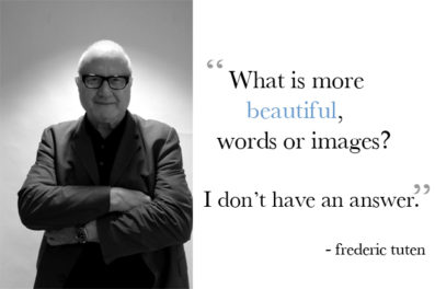 Frederic Tuten and Steve Martin Talk Art and Fiction