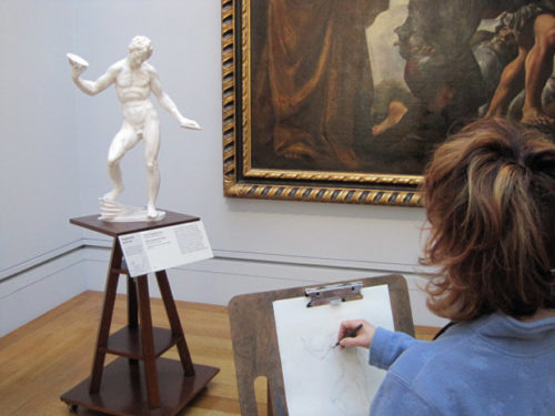 In the Sketching Gallery, It's Time to Create