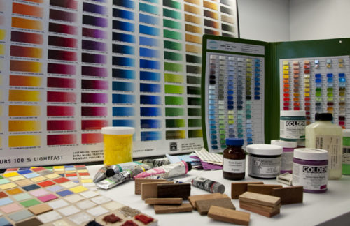 From Green Umber to Azurite, Walnut Oil to Egyptian Sandstone, Reference Collection Helps Scientists Analyze Art Data