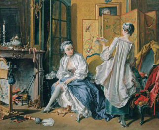 Power Breakfast Inspired by a King: The 18th-Century Toilette