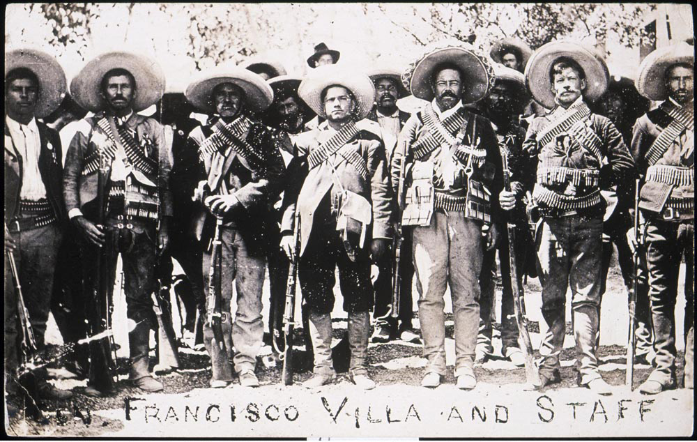Francisco [Pancho] Villa and Staff