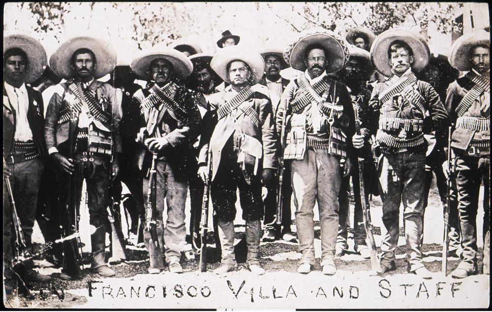 Francisco [Pancho] Villa and Staff