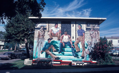 New Online: The Ernest A. Long Outdoor Mural Image Archive