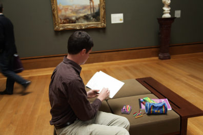 Five Tips for Sketching at the Museum