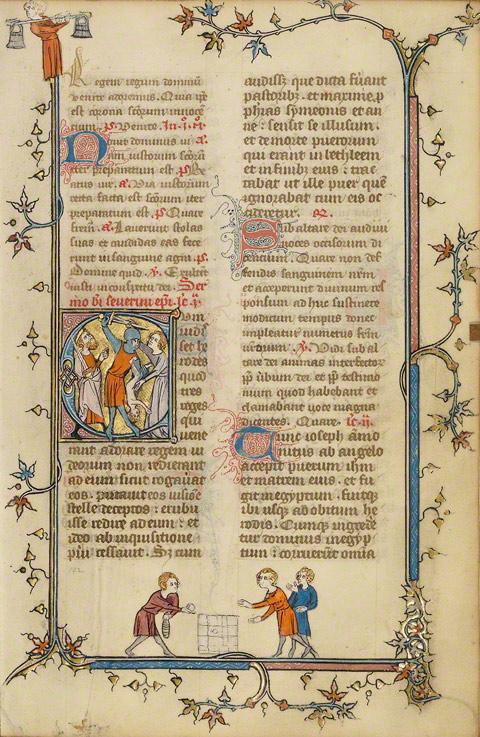 the manuscript files  medieval children u2019s games