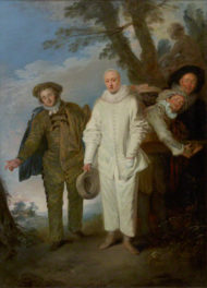 Watteau's Serious Clown Comes to the Getty