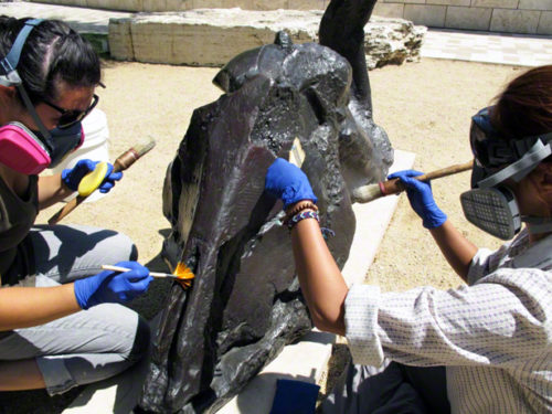 Waxing and Waning of Summer in Decorative Arts & Sculpture Conservation