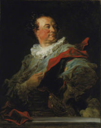 "Fragonard's ""Fantasy Portrait"" of Dashing French Duke on Temporary Loan"