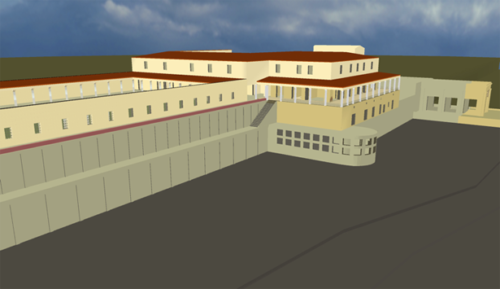 A Virtual Model of the Villa dei Papiri