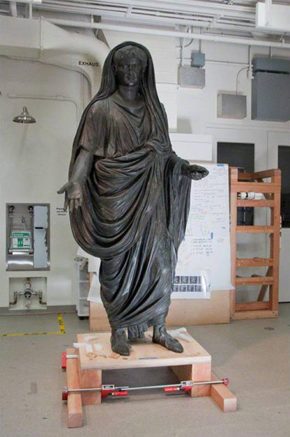A Roman Emperor Sojourns at the Getty Villa