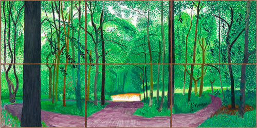 David Hockney in the Promised Land