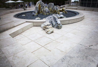 Getty Fountains Temporarily Turned Off to Save Water
