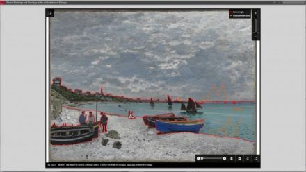 New Digital Publication Zooms in on Claude Monet