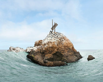 Sculpted Photographs of the California Coast