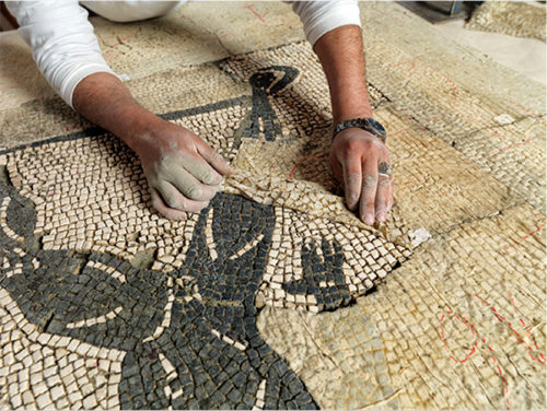 Conserving Mosaics in the Middle East and North Africa, A MOSAIKON Trainer's Account