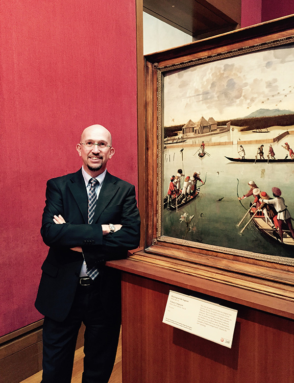 Davide Gasparotto, senior curator of paintings, Getty Museum
