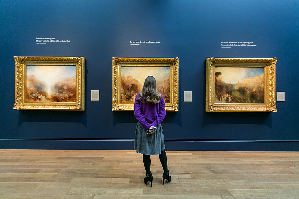 D Painting Exhibition In Dubai : J m w turner exhibition open till pm on its final day
