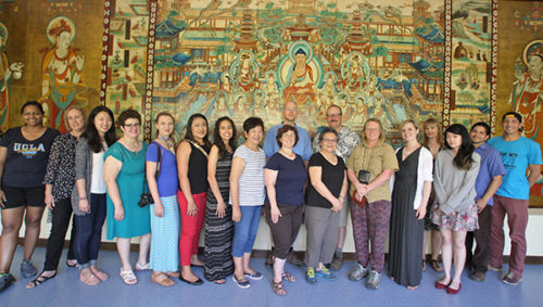 Bringing the Cave Temples of Dunhuang to California Classrooms