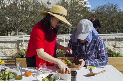 Getty Salad Garden: Victoria Fu