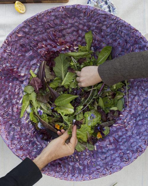Getty Salad Garden: Michael Parker