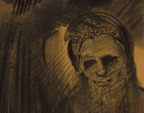 """Black is the most essential color"": Odilon Redon's Noirs"