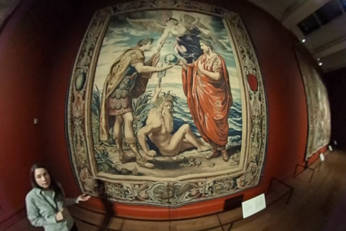 A First Experiment with 360 Video at the Getty