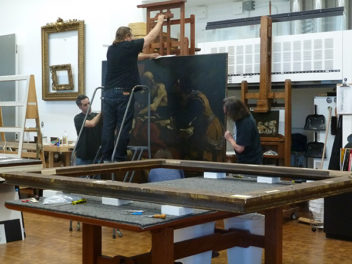 An Italian Masterpiece Visits the Getty for Conservation and Study
