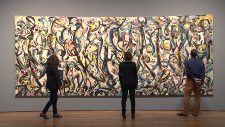 VIDEO: Exploring & Conserving Jackson Pollock's <em>Mural</em>