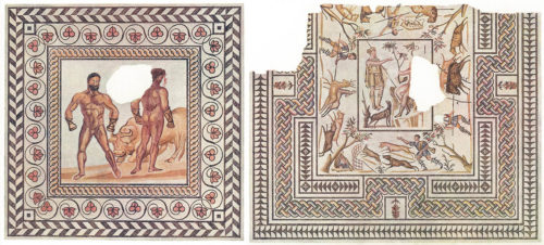 How a Pair of Roman Mosaics Journeyed from Southern France to SoCal