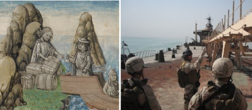 Centuries-Old Manuscripts and Modern-Day Military Service