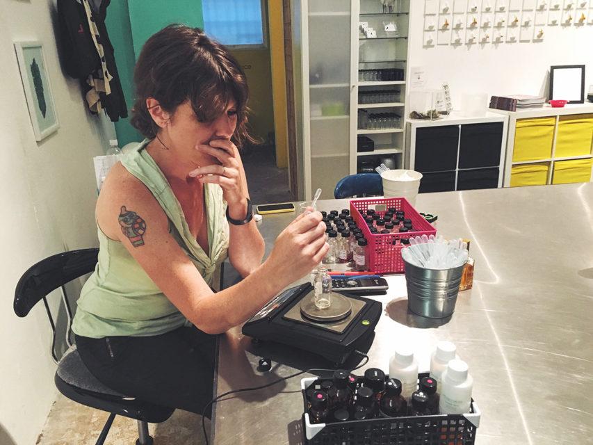Artist Saskia Wilson-Brown Uses Scent as a Creative Medium