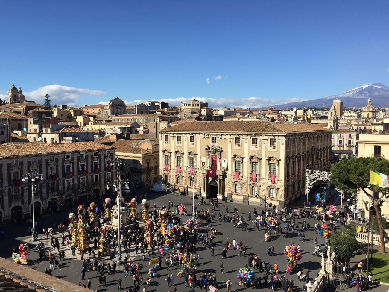 Reliving a Medieval Procession: Festa di Sant'Agata