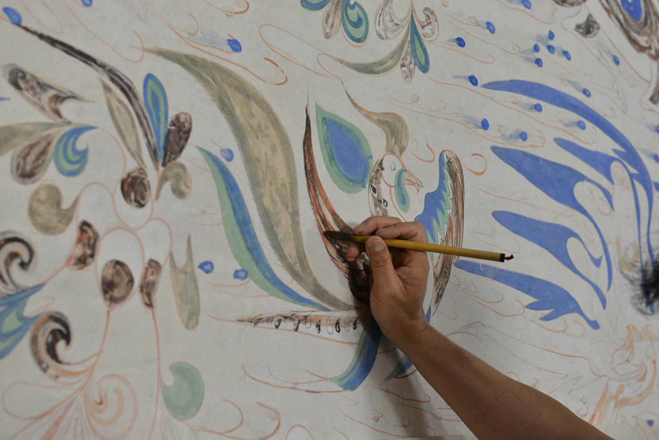 An Artist's View of Replicating Ancient Paintings