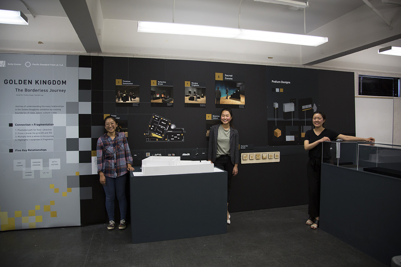 Su sun Kwak, Hanbi Ko, Scarlett Lee