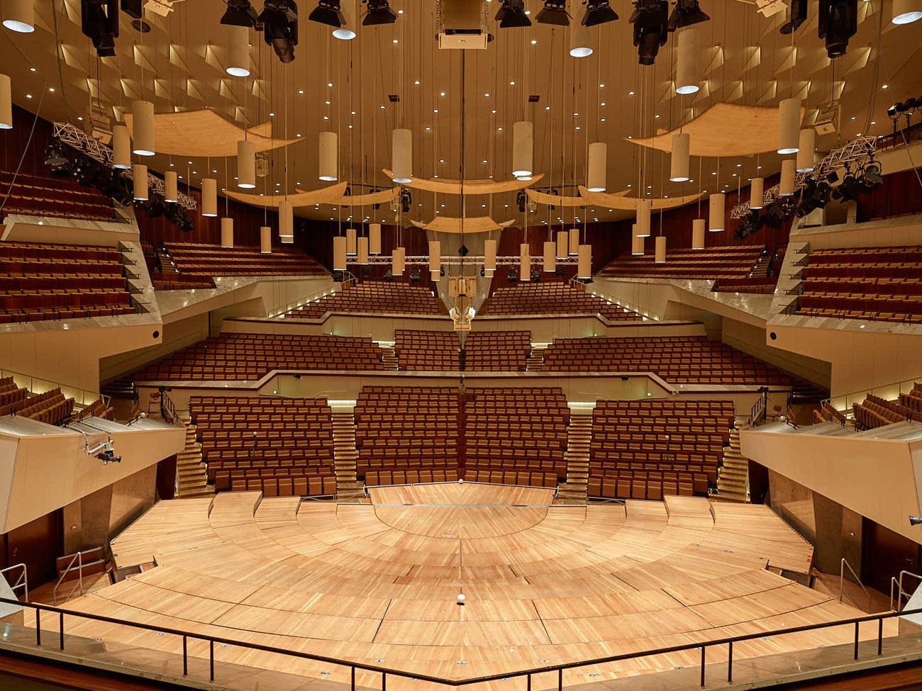 Philharmonie interior