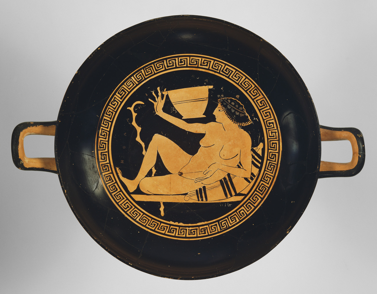 Reclining And Dining  And Drinking  In Ancient Greece
