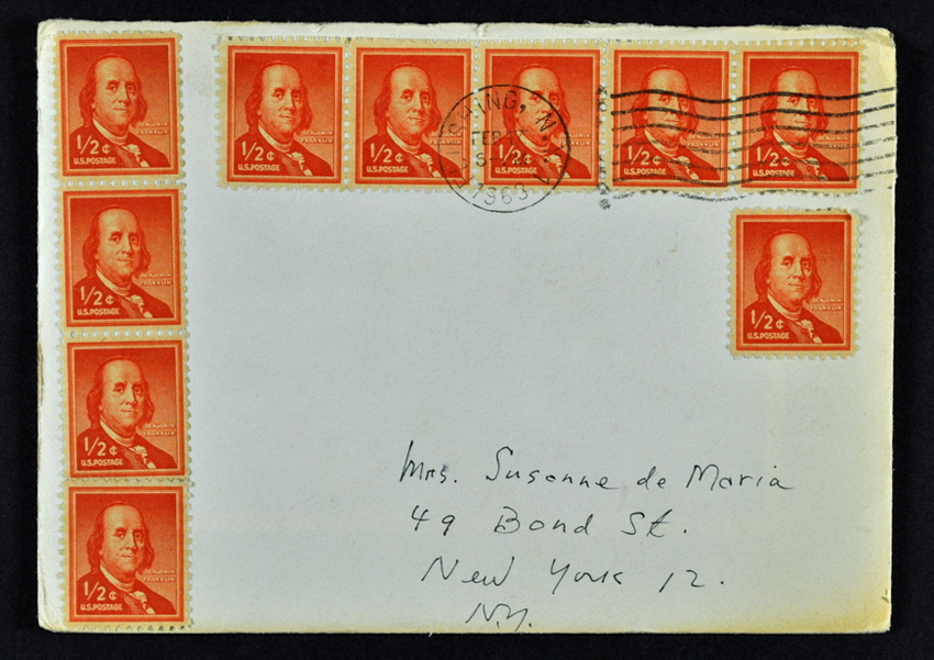 Envelope from a letter / Cornell