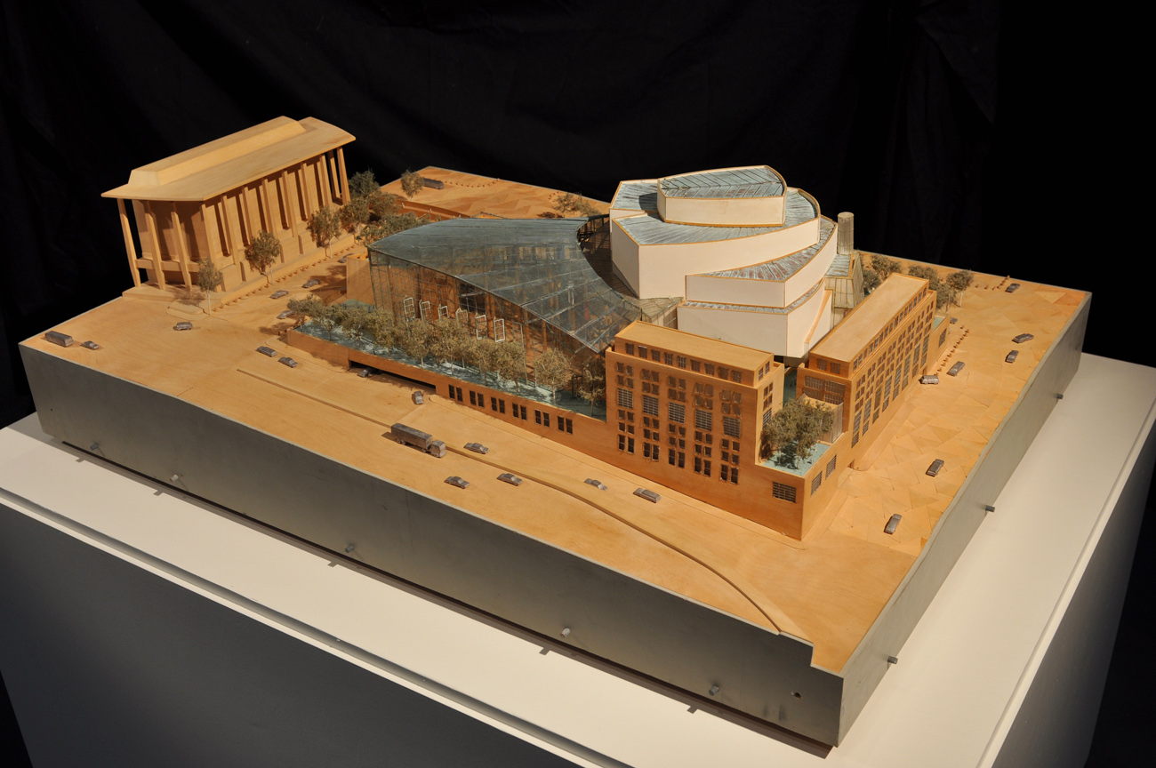 Competition model for Disney Hall