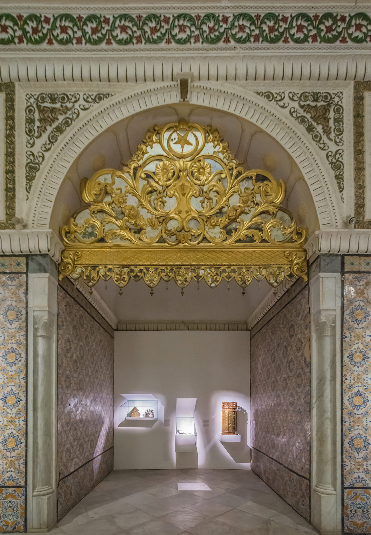 Alcove within the exhibition