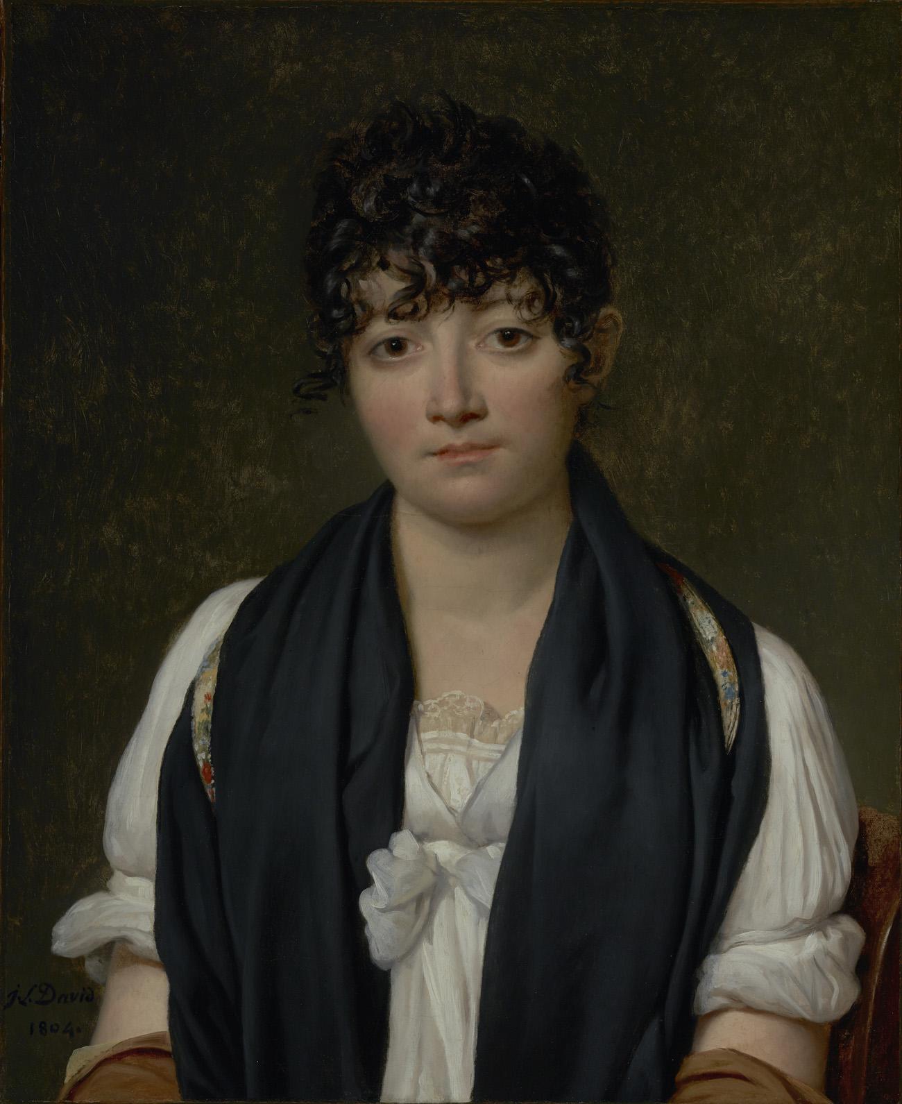 Suzanne Le Peletier de Saint-Fargeau / David